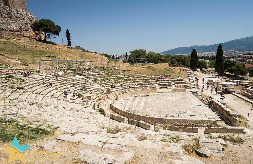 سالن تئاتر دیونیزوس در آکروپولیس