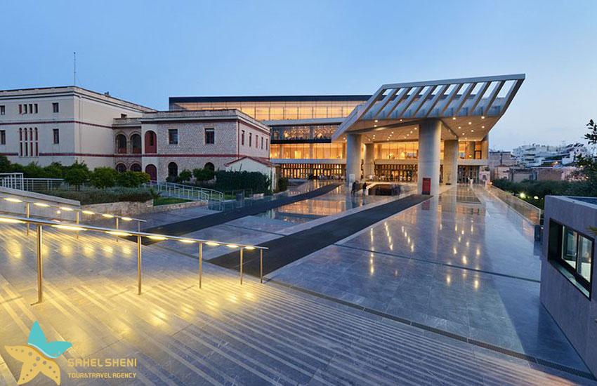 موزهی آکروپولیس | جاذبههای گردشگری آتن