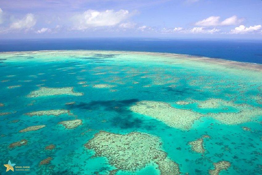 برترین جاذبههای گردشگری کویینزلند سد بزرگ مرجانی
