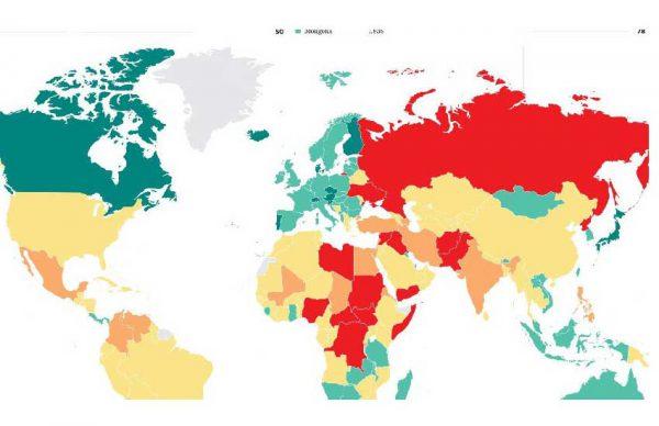 امنترین کشورهای جهان برای سفر در سال 2020