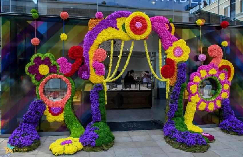 نمایشگاه گل در لندن