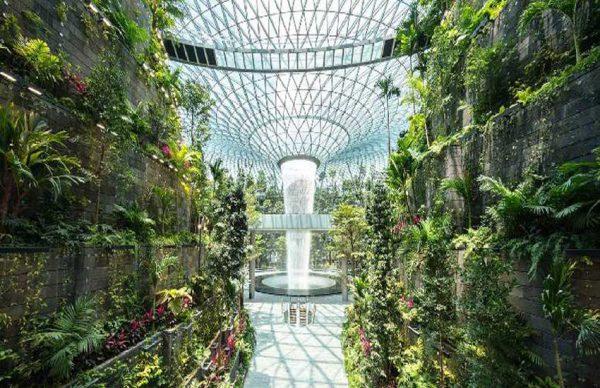 معرفی مجتمع جواهر (Jewel Complex) در برترین فرودگاه جهان