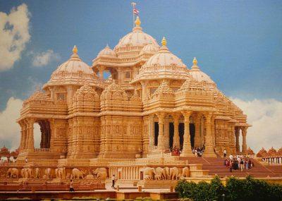 معبد آکشاردام   مشهورترین مکانهای مذهبی جهان