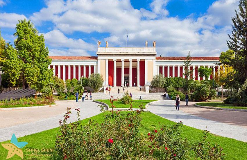 موزهی ملی باستانشناسی یونان | جاذبههای گردشگری آتن