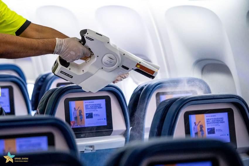 تمیز کردن هواپیما