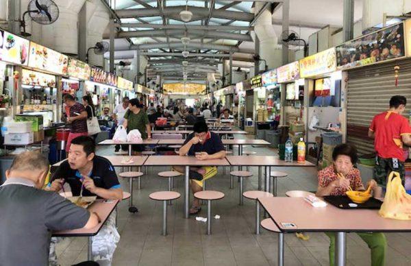 گشتی در بازار هاوکر (Hawker Stalls) در سنگاپور