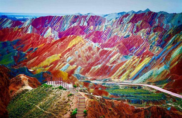 بهترین منظرههای رنگارنگ جهان