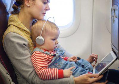 راهنمای سفر هوایی با کودک