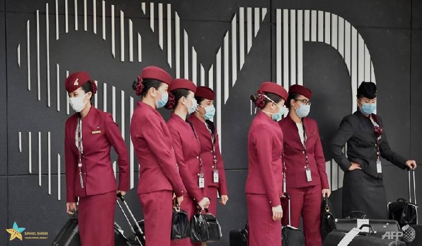 میهمانداران خطوط هوایی قطر