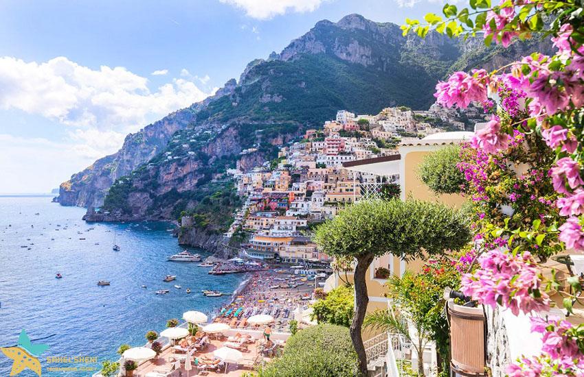 ساحل آمفالی ایتالیا - سفر ماه عسل