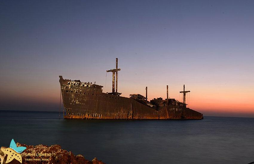 کشتی یونانی | راهنمای سفر به کیش