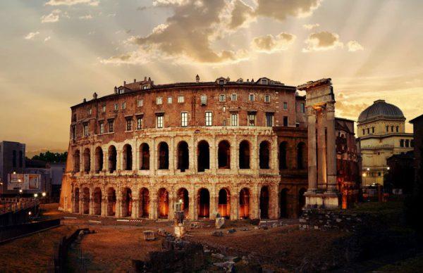 8 تا از بهترین بناهای تاریخی روم باستان